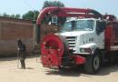Realizan acciones de desazolve de drenajes en la Pila