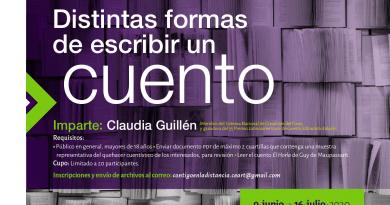 """""""Distintas formas de escribir un cuento"""", nuevo taller a distancia del CEART San Luis"""