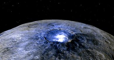 El planeta enano Ceres, un mundo helado que se mantiene activo