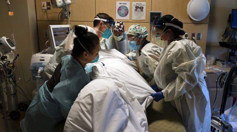 EE.UU presenta por primera vez 3100 muertes diarias por Covid-19