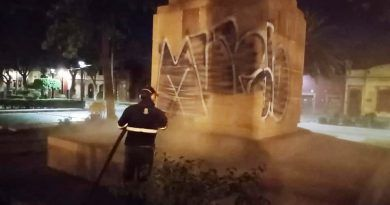 Ayuntamiento de la capital sin tregua contra graffiti