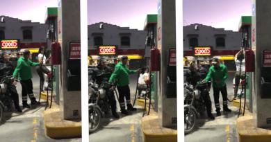 Gasolinera mexicana se hace famosa por ofrecer baile sexy, mientras te despachan