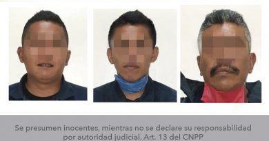 Capturan a tres policías municipales de Santa María del Río por probable desaparición forzada