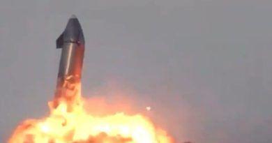 El cohete Starship de Space X explota momentos después de aterrizar con éxito (VIDEO)