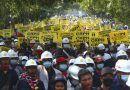 Myanmar: policía dispersa protestas; enviada ONU pide actuar