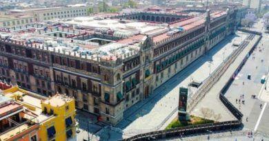Vallas en Palacio Nacional son para evitar provocaciones de infiltrados