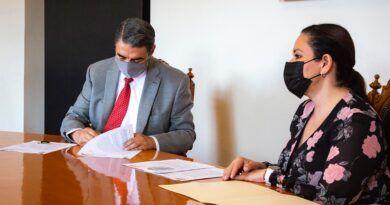 UASLP recibe la visita de la Auditoría Superior del Estado para dar inicio formal a los trabajos de fiscalización de la cuenta pública 2020.