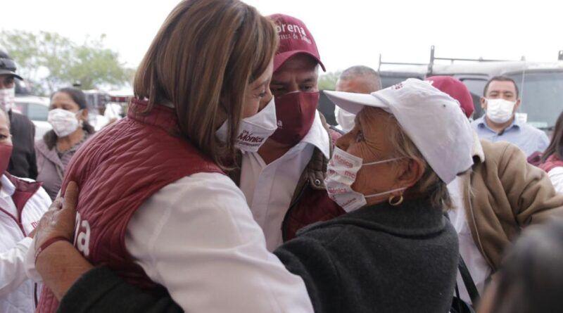 Llevaré el gobierno a las comunidades: Dra. Mónica Rangel