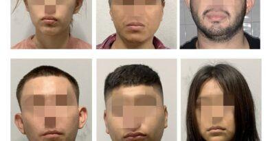 Prisión preventiva para 6 personas detenidas con armas de fuego en Ciudad Valles