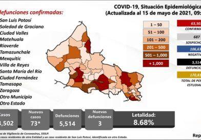 Gobernador anuncia vacunación para mayores de 50 años en la Zona Metropolitana
