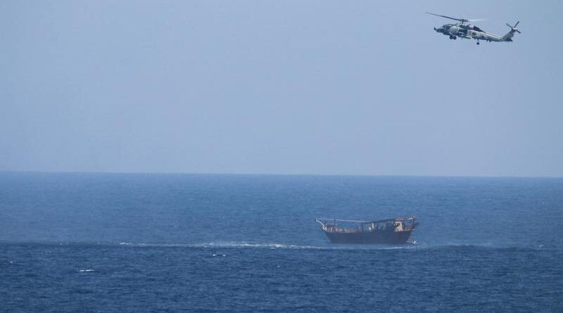 EEUU confisca un cargamento de armas en el Mar Arábigo